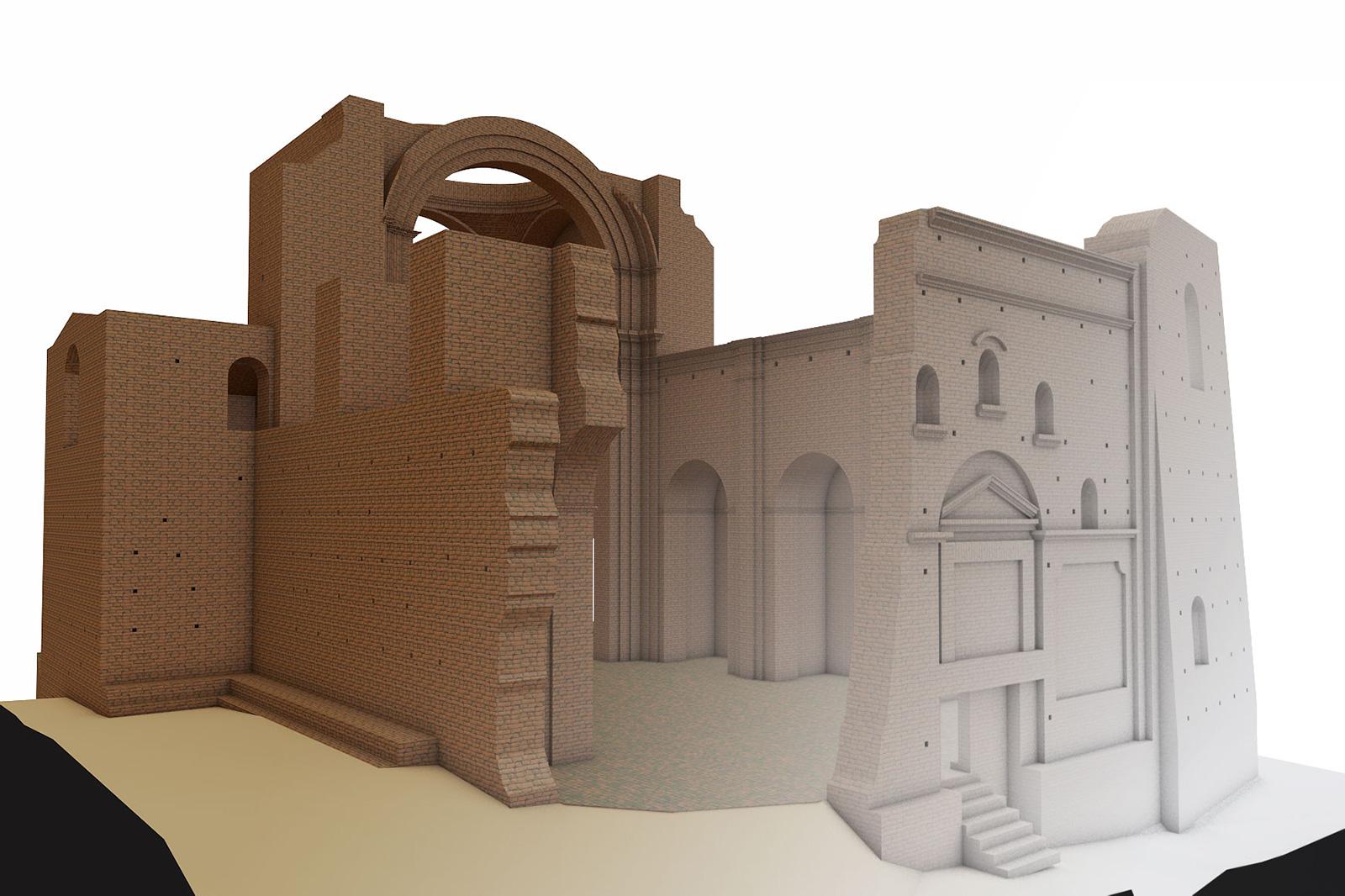 Chiesa-Diruta_modellazione-archicad24