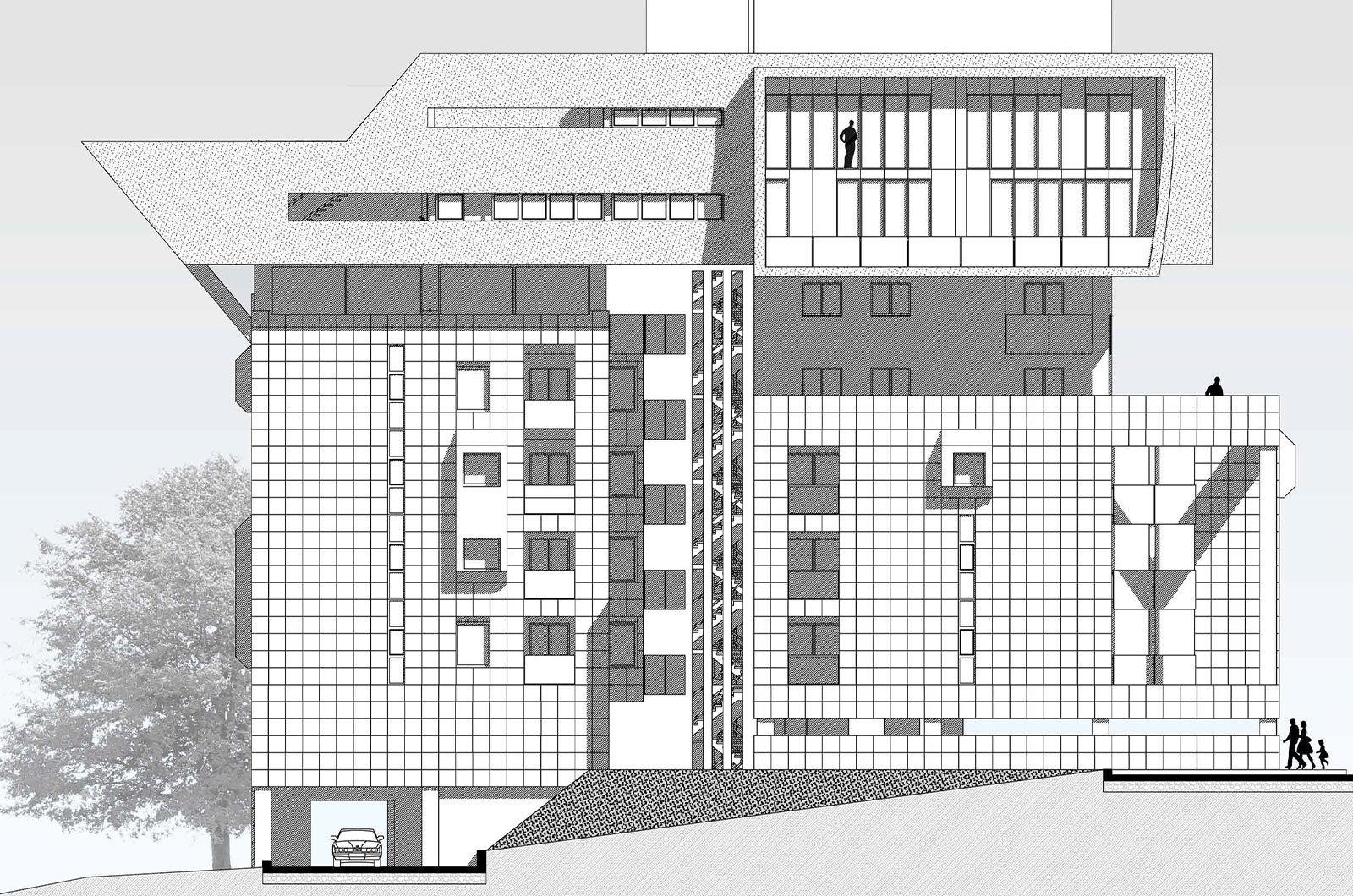 residenziale-archicad_Malara-architetti_prospetto