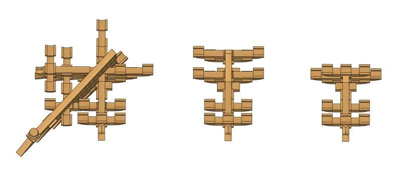 Liuzhou - set mensole dall'alto
