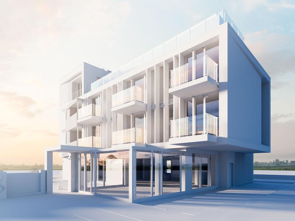 GRAPHISOFT - d.vision hotel aida - render