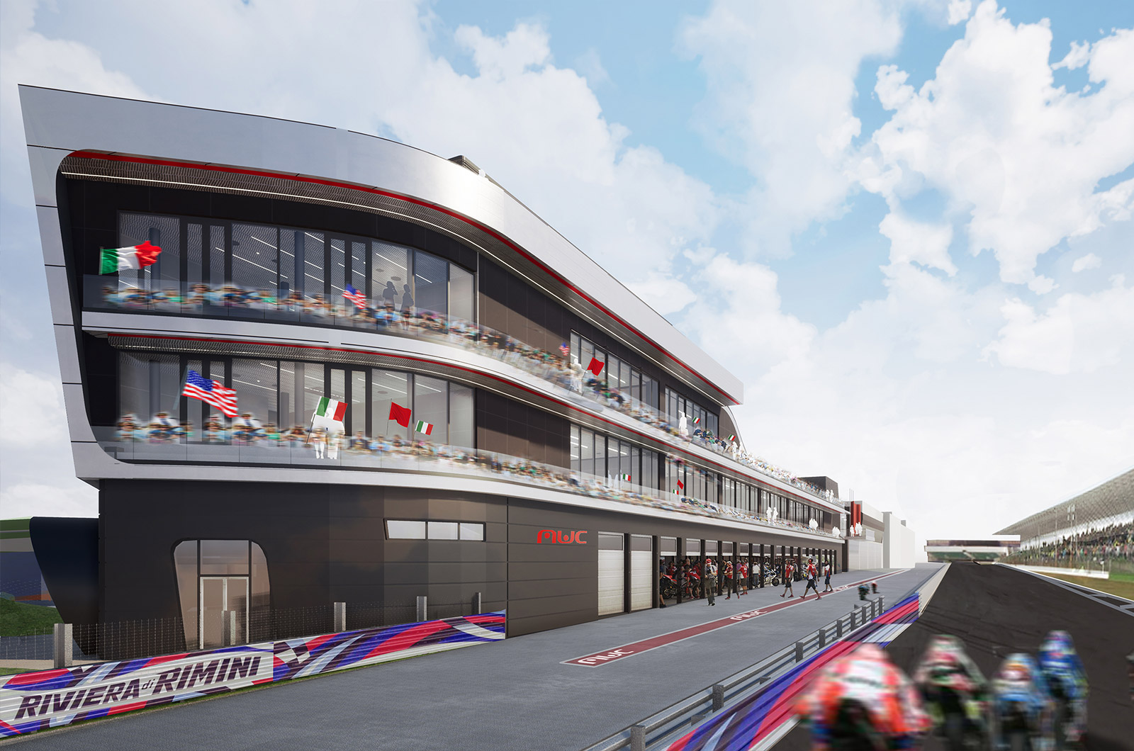 misano world circuit progetto archicad bim