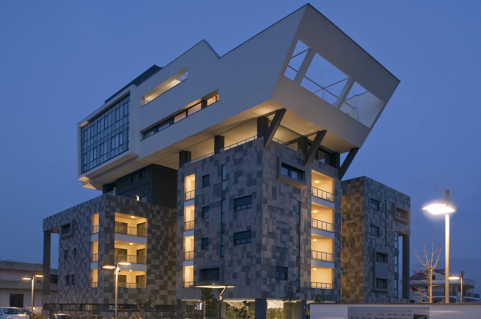 Progetto residenziale realizzato con Archicad da Malara Architetti